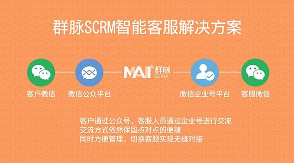 群脉SCRM智能客服解决方案