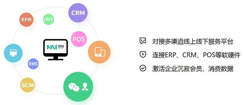 连接ERP、POS、DMS等软硬件