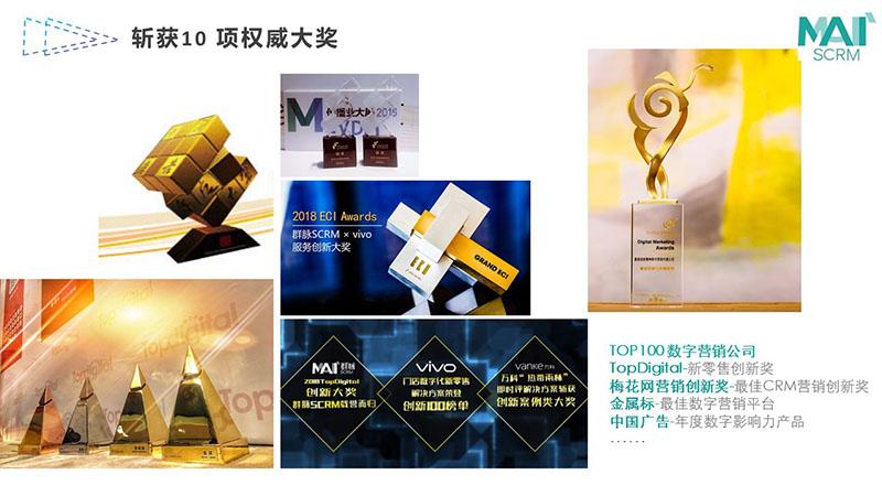 群脉数字营销奖项
